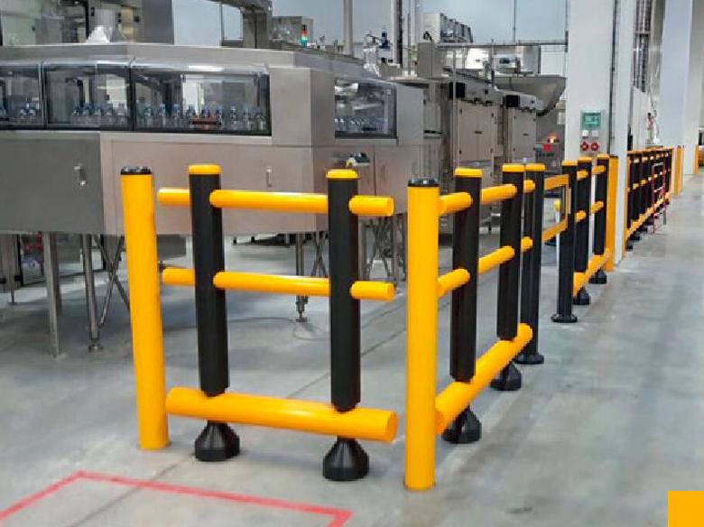 Protection industrielle anti choc Cloisons du Mid