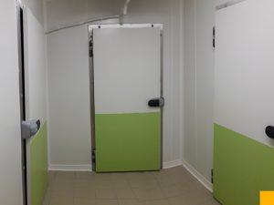 Cloisons du midi i installation porte chambre froide - Chambre froide isolation ...